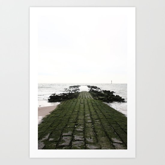 Look at the Sea Art Print