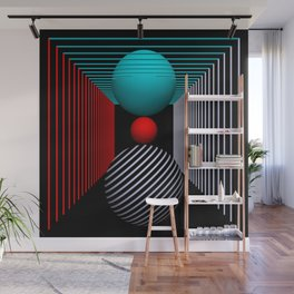 liking geometry -5- Wall Mural