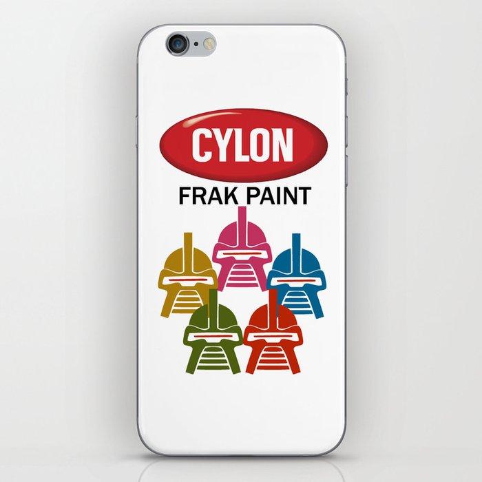 Cylon Frak Paint iPhone Skin