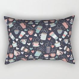 Caffeinated Rectangular Pillow