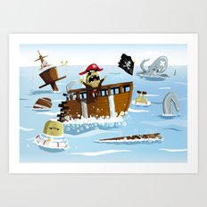 Pirates Art Print