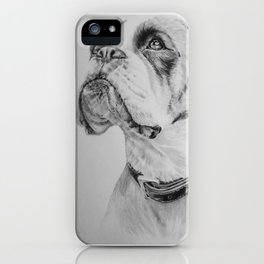 What A Good Boy !! iPhone Case