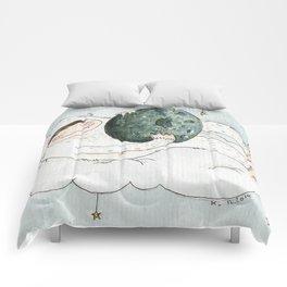 monstre à l'oeuf Comforters