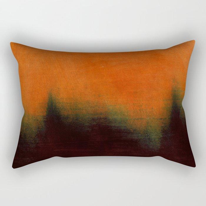 atmospheric landscape Rectangular Pillow