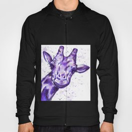The Purple Giraffe  Hoody