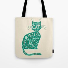 'The Cat That Walked by Himself' Tote Bag