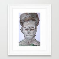 afro Framed Art Prints featuring Afro by Jonathan Moreira