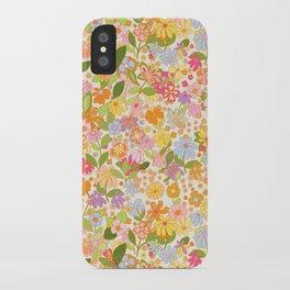 Nostalgia in the garden iPhone Case