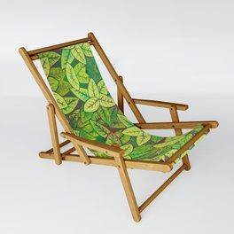 Spring leaves Sling Chair