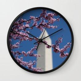 Spring in Washington, DC Wall Clock