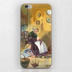 Winter granny's tale iPhone & iPod Skin