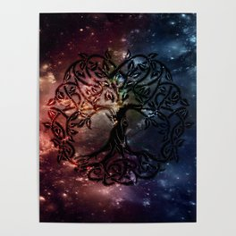 Viking Tree of life Poster