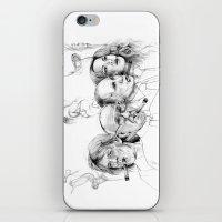 putin iPhone & iPod Skins featuring Kuba by Andreas Derebucha