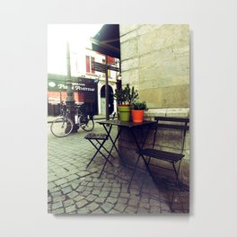 Cafe Society Metal Print