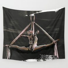 Subtle Splits Triangle Wall Tapestry