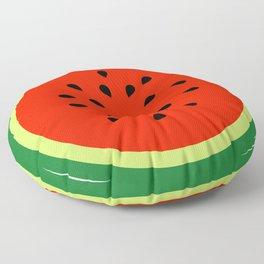 Watermelon Summer fruit Floor Pillow