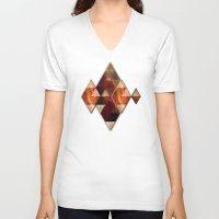 polygon V-neck T-shirts featuring Polygon by Tony Vazquez