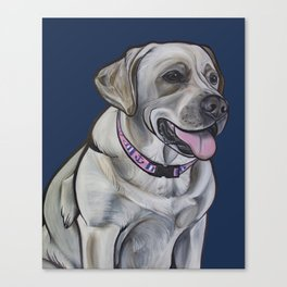 Gracie the Labrador Canvas Print