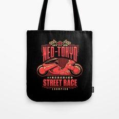 Neo-Tokyo Street Race Champion Tote Bag