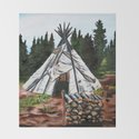 Walking Out Ceremony Teepee by natasiamukash