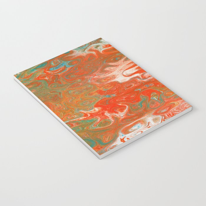 As Luck Would Have It, Abstract Art Notebook