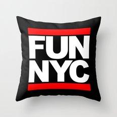 FUN NYC Throw Pillow