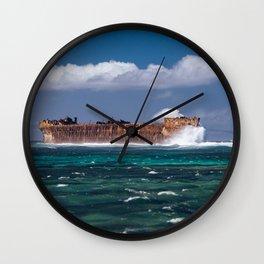 Lanai, Hawaii Wall Clock