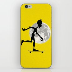 Friendly Zombie On The Go - Longboard iPhone & iPod Skin