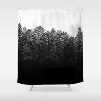 1984 Shower Curtains featuring Nocturne No. 4  by Prelude Posters