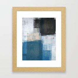 Slanted Framed Art Print