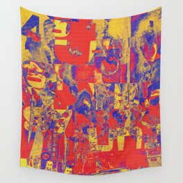 1758 Abstract Thought Wall Tapestry