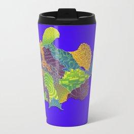Frogfish Relief Print Travel Mug