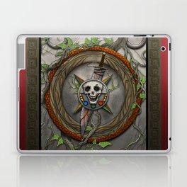 The Shattered Skull Laptop & iPad Skin