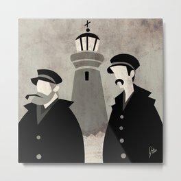 Lighthouse Keepers Metal Print