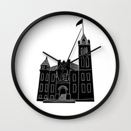 Cohoes City Hall Wall Clock