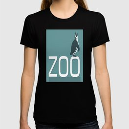 Zoo sign with penguin T-shirt