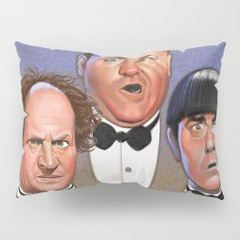 The Three Stooges Pillow Sham