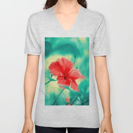 Tropical Exuberance II Unisex V-Neck