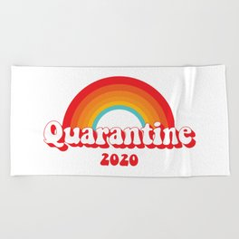 Quarantine 2020 Beach Towel