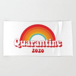 Quarantine 2020 Beach Towel