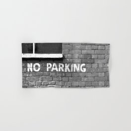 No parking Hand & Bath Towel