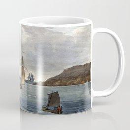 Augustus Earle Sydney Heads Coffee Mug