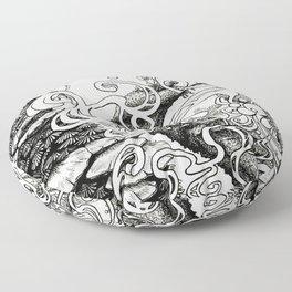 Epiphycadia III: Bracket Fungi Floor Pillow