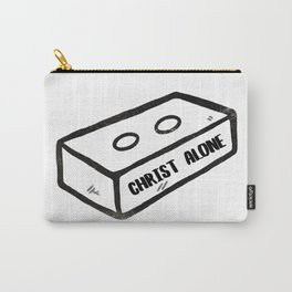 Christ Alone. Cornerstone. // Tara Carry-All Pouch