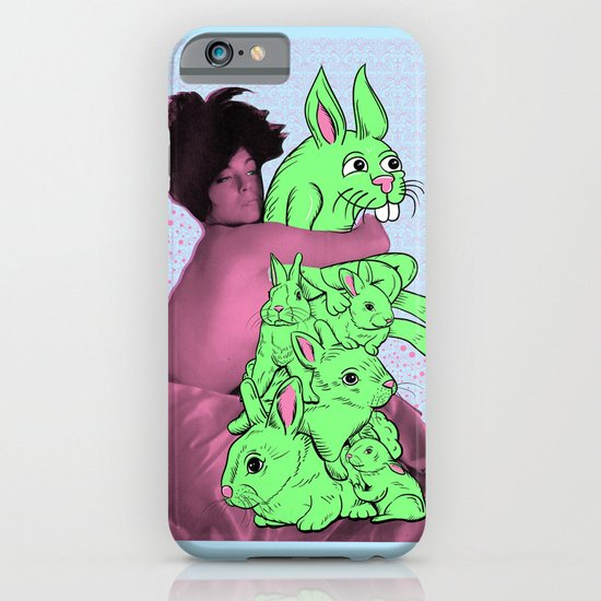 Bunny Pile iPhone & iPod Case