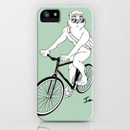 Owl Fixie iPhone Case