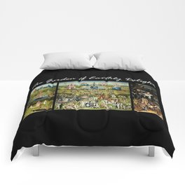 The Garden Of Earthly Delights Hieronymus Bosch Comforters