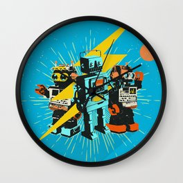 REVERSE WORLD Wall Clock
