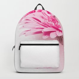 Pink gerbera Backpack