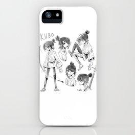 kubo iPhone Case